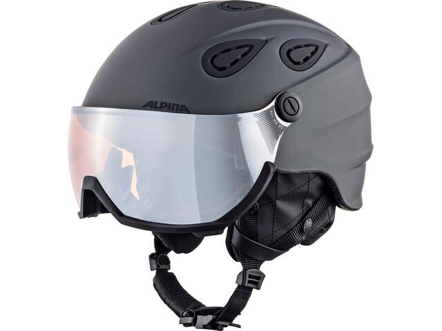 Alpina Grap Visor 2.0 HM - Casco de bicicleta - gris